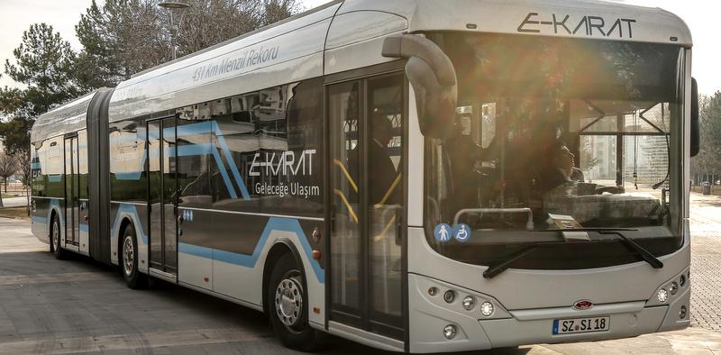 Karsan ve Bozankaya Yerli Elektrikli Otobüs İçin İşbirliği Yaptı