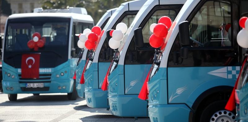 Karsan'dan Manisa Turgutlu'ya 40 Adetlik Jest Minibüs Teslimatı!