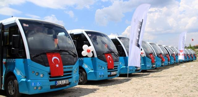 Karsan'dan Manisa'ya 63 Adetlik Jest Minibüs