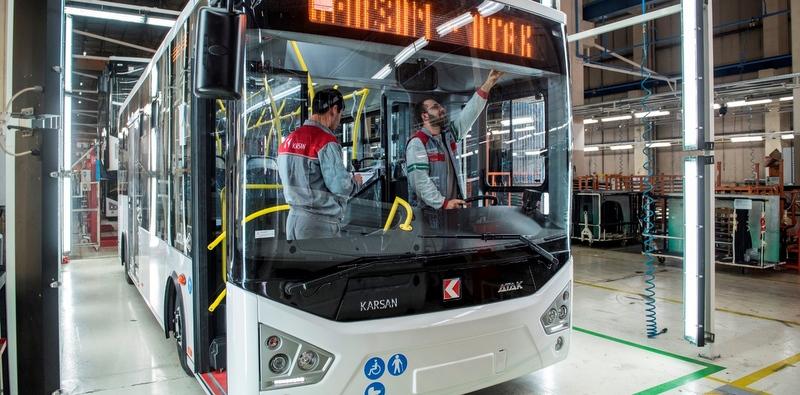 Karsan'dan Romanya'ya 20 adet Atak otobüs!