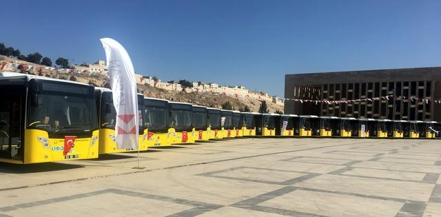 Karsan'dan Şanlıurfa'ya 20 Adet 18 Metrelik Otobüs!