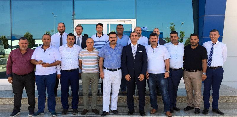Krone, Gaziantep ve Kilisli nakliyeciler Tire fabrikasını ziyaret etti