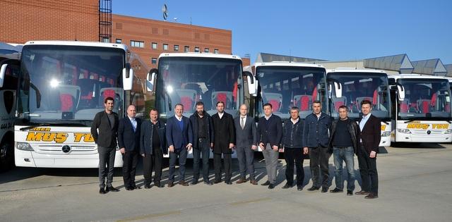 Lider Muş Tur filosuna 7 adet Tourismo daha kattı