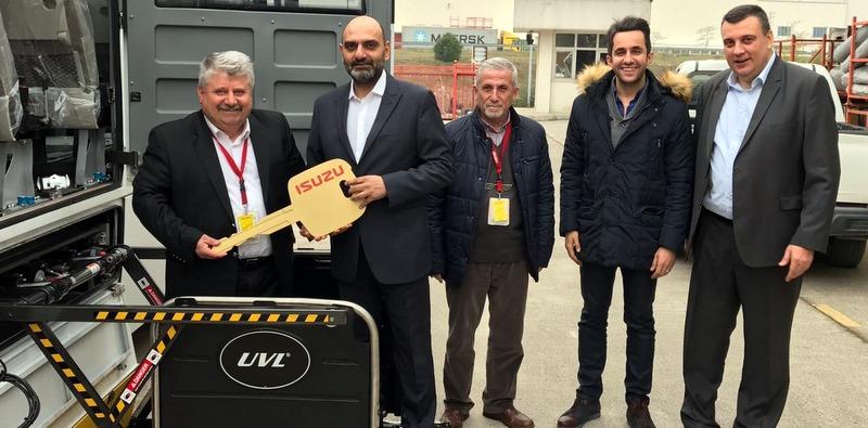 Liftli Isuzu Turkuaz otobüs teslim aldı, Ankara'da engelsiz ulaşım sağlayacak