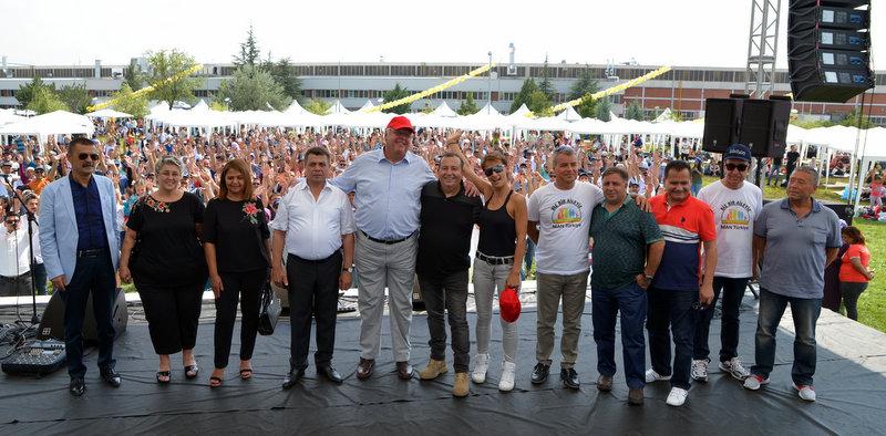 MAN Türkiye'nin pikniğinde 10 bin kişi buluştu