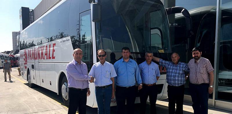 MAN'dan Pamukkale'ye Lion's Coach 2+1 VIP otobüs