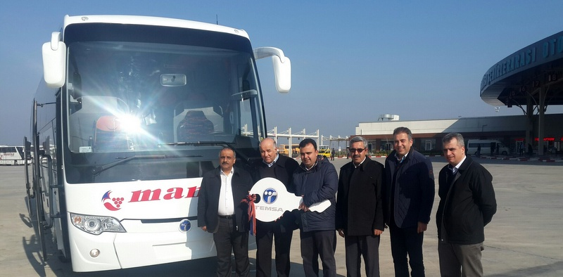 Manisa Seyahat'e Safir Plus otobüs teslim edildi