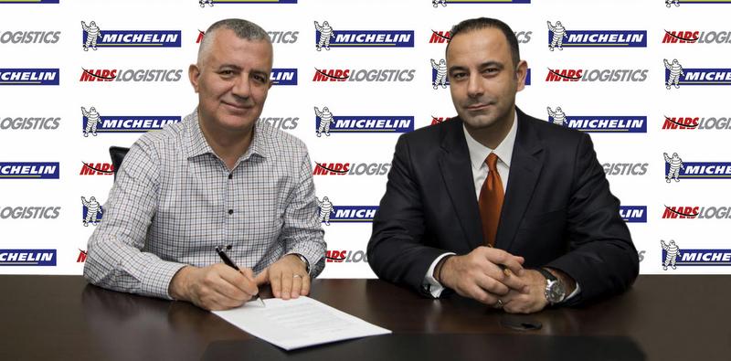 Mars Logistics, lastiklerini 2020'ye kadar Michelin'e emanet etti