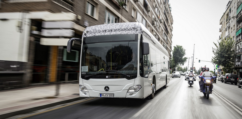 Mercedes-Benz elektrikli Citaro'nun ilk müşterisi belli oldu