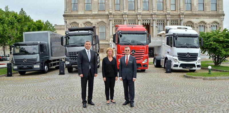 Mercedes-Benz Euro 6 kamyon serisini tanıttı