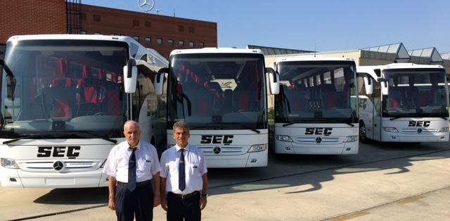 Mercedes-Benz Türk, 11 yere 16 adet otobüs teslim etti