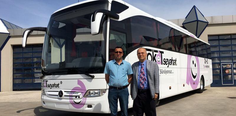 Mercedes-Benz Türk, 4 firmaya otobüs teslim etti