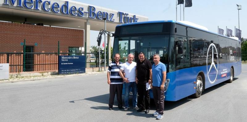 Mercedes-Benz Türk halk otobüs şoförlerine ekonomik sürüş eğitimleri veriyor