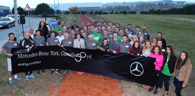 Mercedes-Benz Türk, İstanbul Maratonu'nda eğitim için koşacak