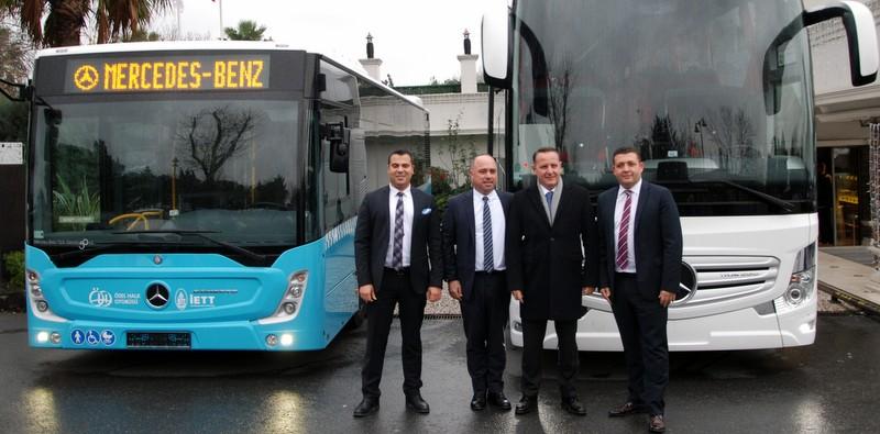 Mercedes-Benz Türk yöneticileri 2017 yılı otobüs pazarını değerlendirdi
