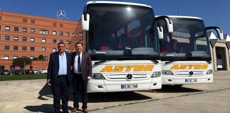 Mercedes-Benz Türk'ten 7 firmaya otobüs teslimatı