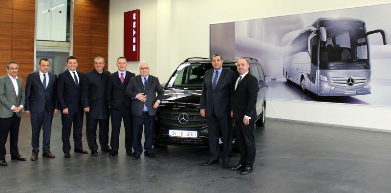 Mercedes-Benz Türk'ten TOFED'e destek