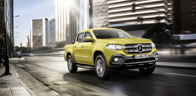 Mercedes-Benz'in Pick-up'ı X-Class Türkiye'de!
