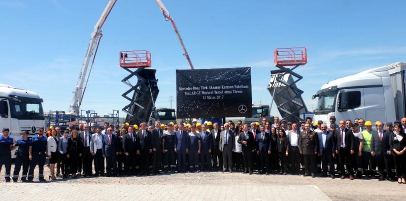 Mercedes-Benz'in tüm kamyonları Aksaray'da test edilecek!