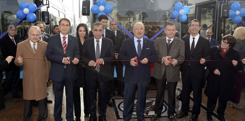 Mersin'e 10 adet 18 metrelik Avenue LF teslim edildi