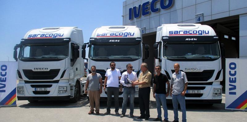Mersin'in yeni lojistik firması 3 adet Euro 6 Iveco Stralis çekici aldı