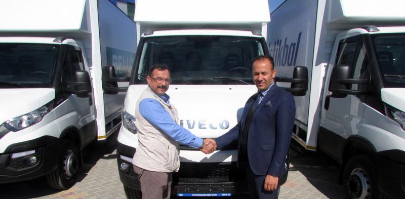 Mobilya dağıtıcısı Kale Pazarlama filosunu Daily kamyonlarla güçlendirdi
