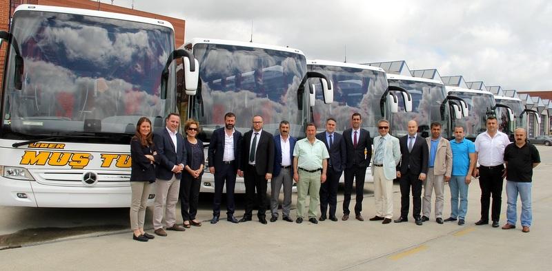 Muş Tur, filosuna 6 adet Tourismo 16 RHD 2+1 aldı