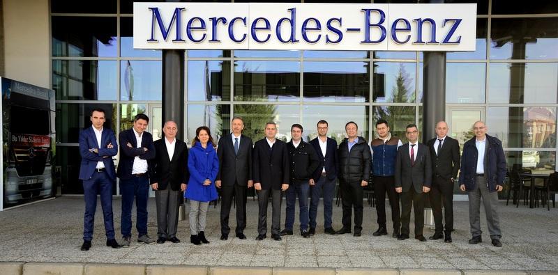OSD Lojistik Komitesi, Aksaray Kamyon Fabrikası'nı ziyaret etti