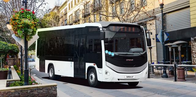 Otokar yeni otobüslerini Sultan LF ve Doruk T'yi Busworld Fuarı'nda sergileyecek