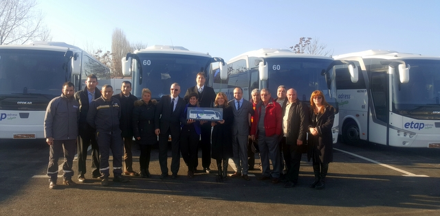 Otokar'dan Bulgaristan'a 10 adet otobüs