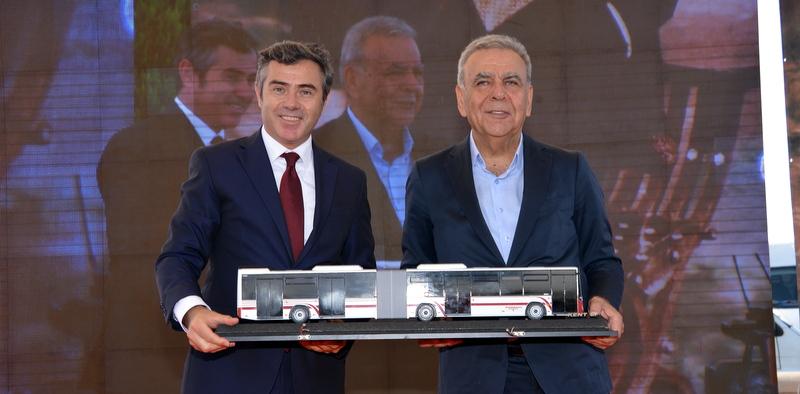 Otokar'dan İzmir'e 60 adet Kent LF Körüklü otobüs