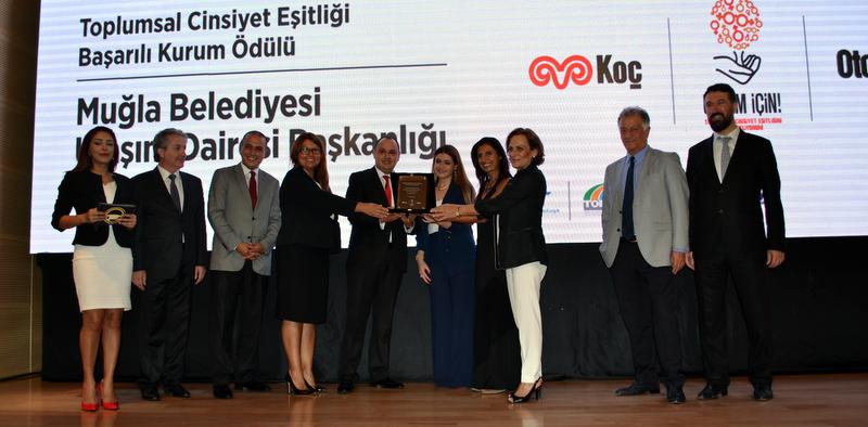 Otokar'ın Toplumsal Cinsiyet Eşitliği Ödülü'nün sahibi Muğla Büyükşehir Belediyesi oldu