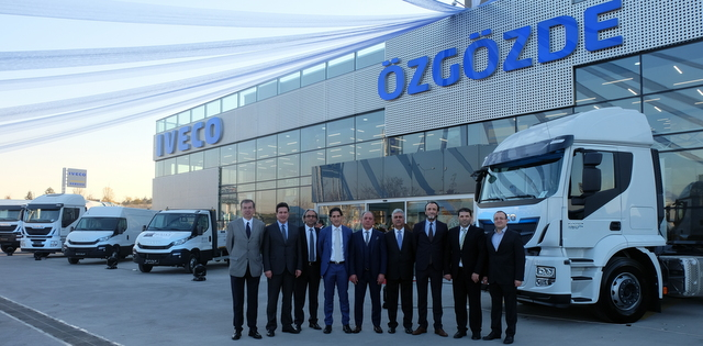 Özgözde Otomotiv'den Ankara'da dev Iveco tesisi