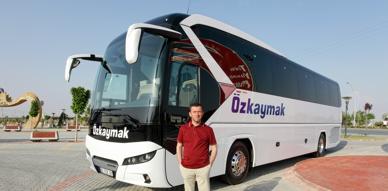 Özkaymak Turizm filosuna 2+1 VIP Yeni Tourliner otobüsler kattı