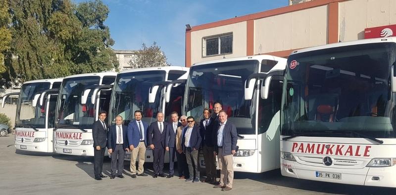 Pamukkale Turizm 9 adet Tourismo 2+1 aldı, filosundaki otobüs sayısını 452 adede yükseltti