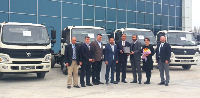 Park-Gün Taşımacılık filosuna 5 adet Otokar Atlas kamyon kattı