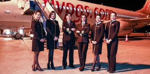 Pegasus, Kadınlar Günü'ne özel uçuş gerçekleştirdi