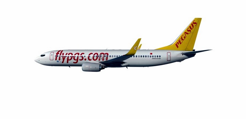Pegasus'un uçak filosuna 5 adet Boaing Yeni Nesil 737–800