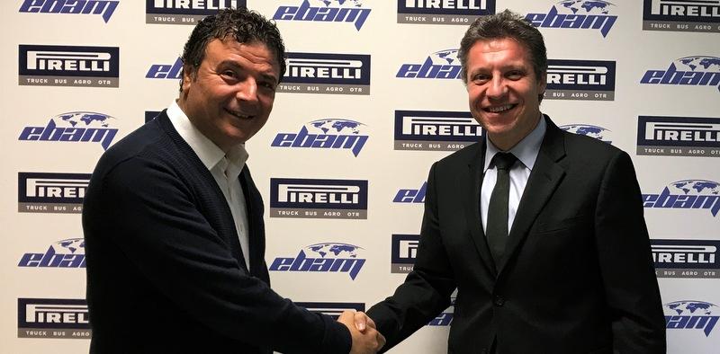 Pirelli, 400'den fazla aracı olan Ebam Uluslararası Nakliyat'ın lastiklerini yönetecek