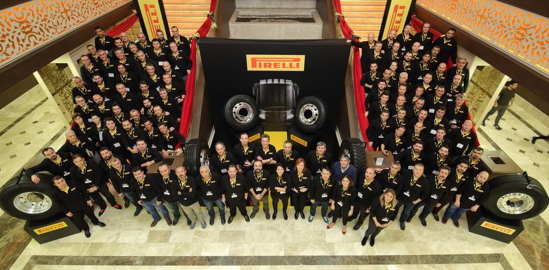 Pirelli, Ağır Vasıta Lastikleri Yetkili Satıcılarıyla Buluştu