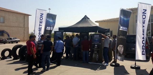 Pirelli Prometeon, 2 bin kamyon şoförü ile buluştu