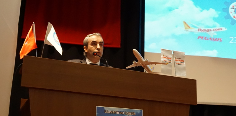 """Prof. Dr. Abdullah Okumuş: Türkiye'nin 2023 hedeflerine giden yolda lojistik kritik sektörlerden biridir"""""""