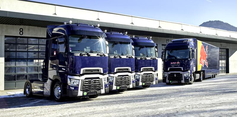Red Bull'a 3 adet Renault Trucks T 520 çekici verdi