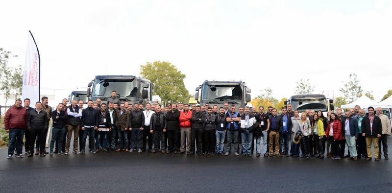 Renault Trucks bayileri Lyon'da buluştu