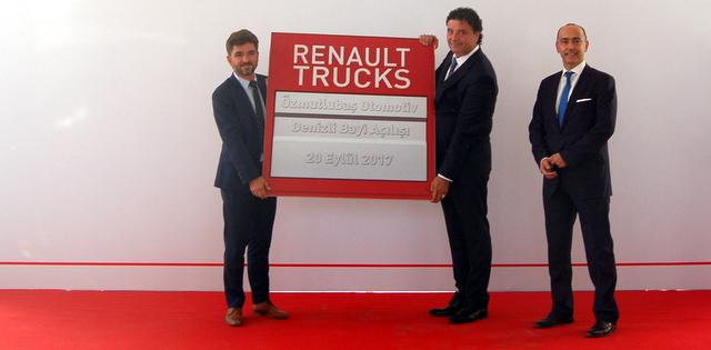 Renault Trucks, İzmir ve Denizli'de Gücünü Artırdı