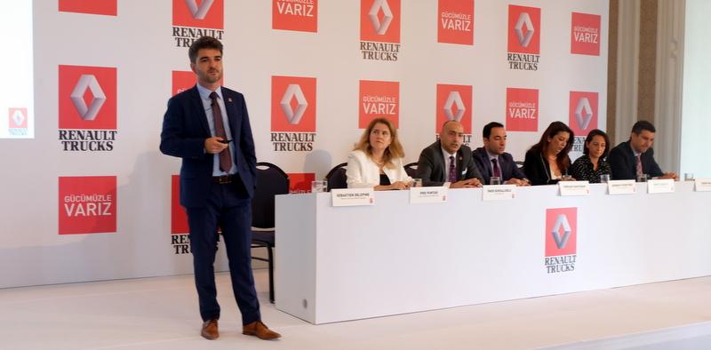 Renault Trucks, Türkiye pazarında her alanda ilk 3'te olmayı hedefliyor
