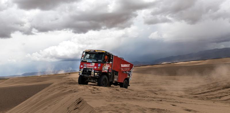 Renault Trucks'tan 2017 Dakar Rallisinde İyi Başlangıç
