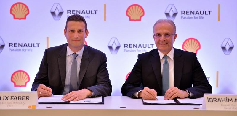 Renault ve Shell işbirliği yaptı