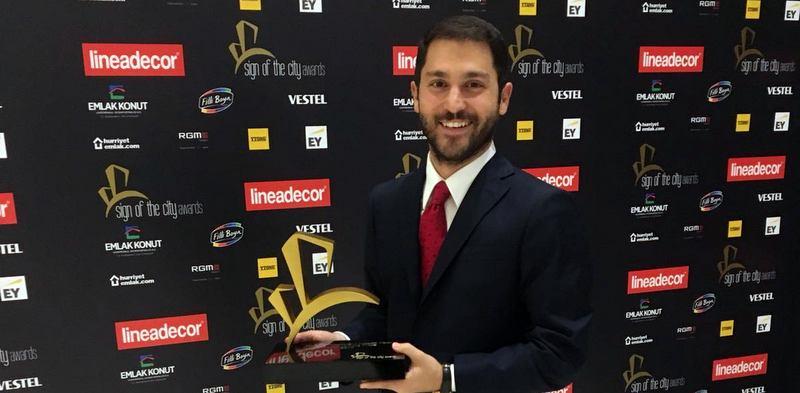 """Reysaş GYO'ya """"Yılın En İyi Endüstriyel/Lojistik Yapı"""" ödülü"""