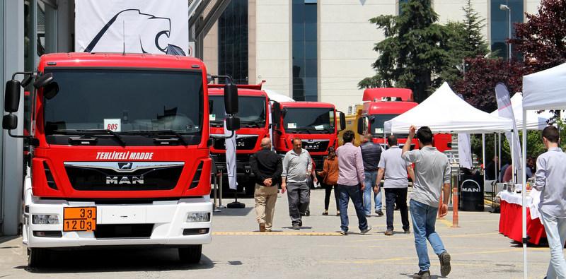 Roadshow ile Türkiye'yi dolaştı 205 kamyon ve çekici sattı